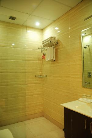 Hotel Yug Villa: bathroom