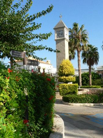 Aldemar Royal Mare Thalasso Resort: big ben