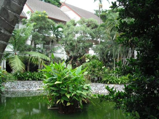 Pinnacle Grand Jomtien Resort: Der nett angelegte tropische Garten