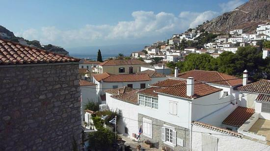 Hotel Mistral: View from roof terrace (rooms 26 and 27)