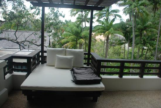 Gaya Island Resort: Balcony