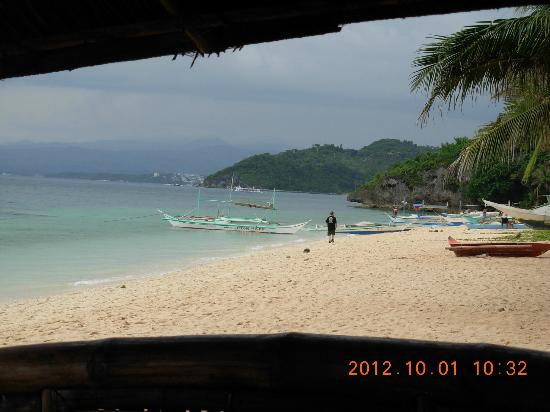 Zoe Mei Resort: View from the Cabanas of the beautiful bay