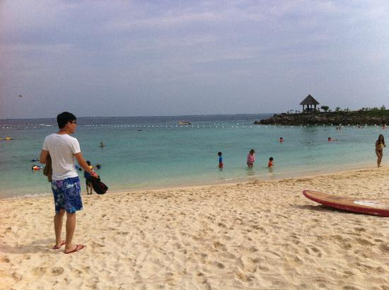 Shangri-La's Mactan Resort & Spa : Awesome Beach