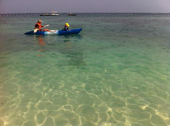 Shangri-La's Mactan Resort & Spa: Kayaking