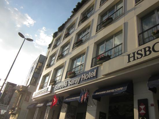 Hotel Beyaz Saray: Fachda hotel