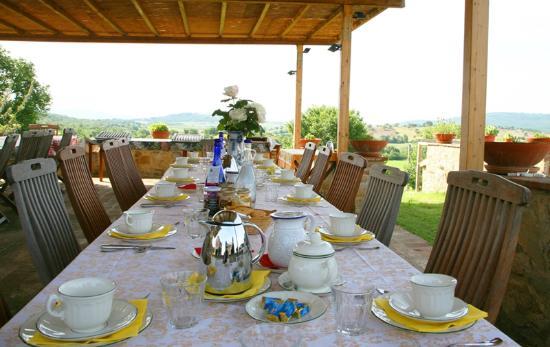Casa Montecucco: Terrassse