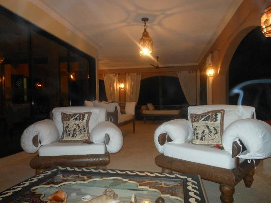 Almanara Luxury Villas: Our Veranda