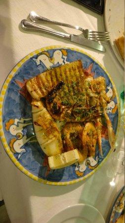 La Taverna di Masaniello: Mixed Fish Grill