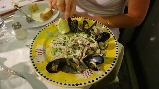 La Taverna di Masaniello: Seafood Starter