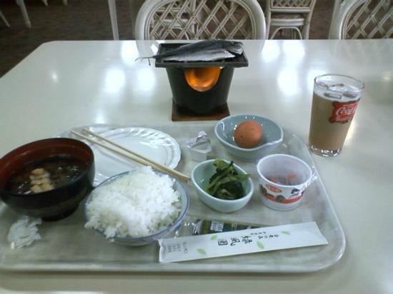 Ryokufuen: 朝食