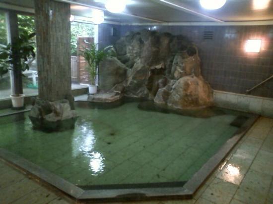 Ryokufuen: 男性大浴場(内湯)