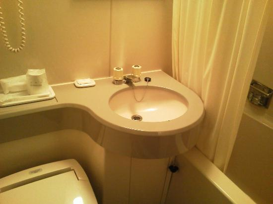 Hotel Satoh Mito: バスルーム