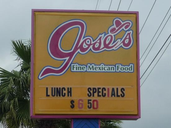Jose's Fine Mexican Food: Jose's
