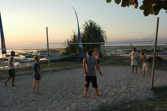Nusa Lembongan, Indonesia: Beach volley ball