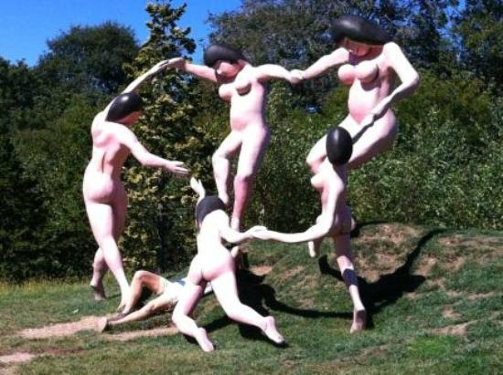 "Grounds For Sculpture: Homage to Matisse ""Dance"""
