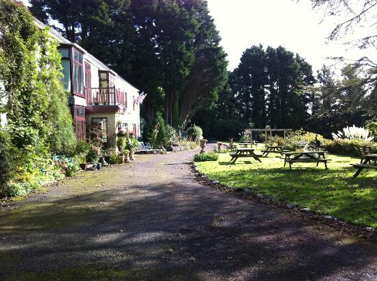 Trimstone Manor Country House Hotel : Hotel Entrance