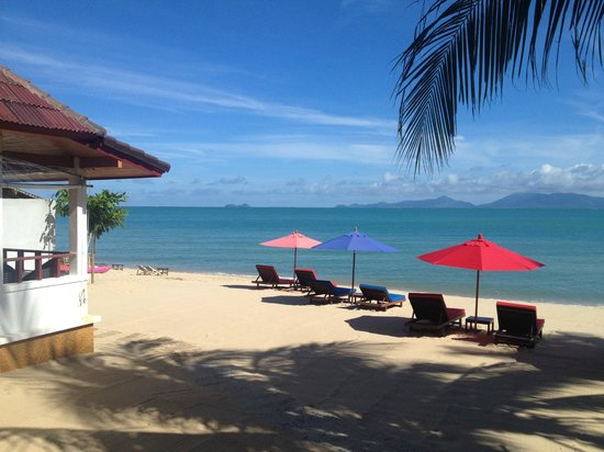 Hacienda Beach Resort: BEACH HOTEL KOH SAMUI