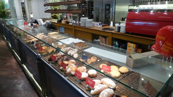 Simplylife Bakery Cafe bakery area