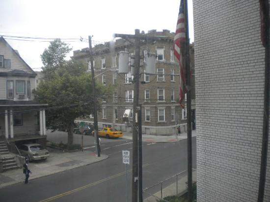 Ramada Jersey City: View from bedroom.