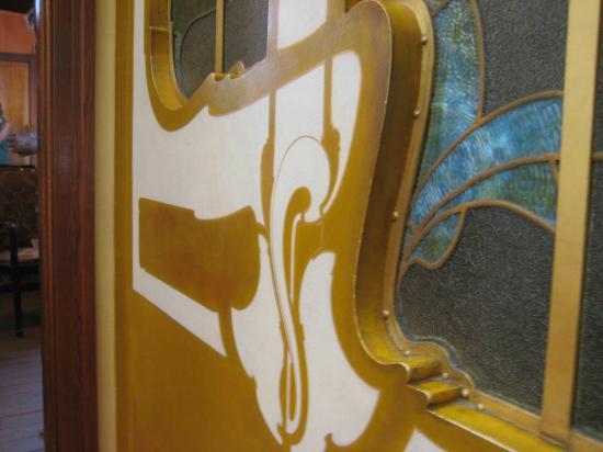 Museo Horta: Curves - a feature of art nouveau