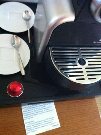 The Westin Athens Astir Palace Beach Resort : Nespresso liking out