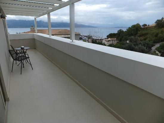 Corfu Mare Boutique Hotel: serenity suite : double balcony