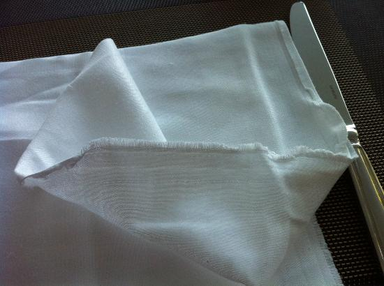 The Westin Athens Astir Palace Beach Resort: Breakfast Napkins