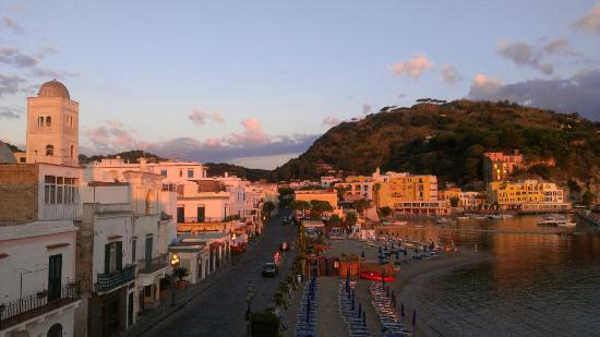 La Sirenella: early morning view