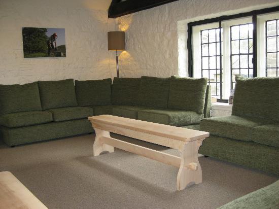 Lounge area of Ilam Bunkhouse