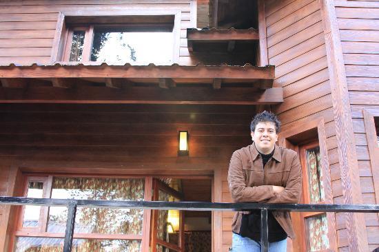 بوسك ديل ناهويل: Na frente da cabana 