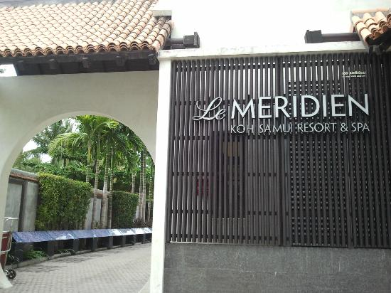 Le Meridien Koh Samui Resort & Spa: Entrance