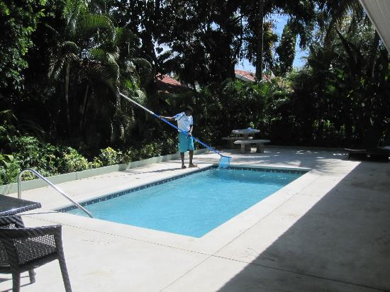 Sandals Ochi Beach Resort: This was our private pool with pool boy!