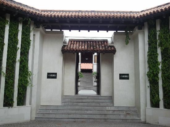 Le Meridien Koh Samui Resort & Spa : Entrance to the resort