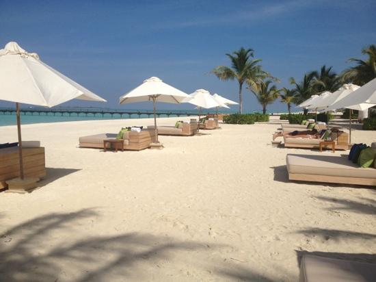 Kanuhura - Maldives: la spiaggia
