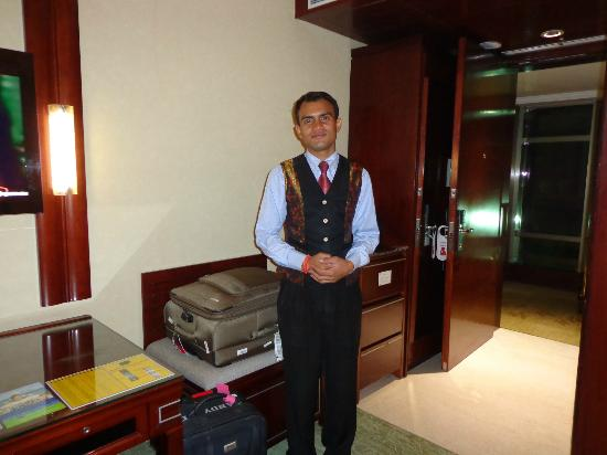 Best Western Skycity Hotel: bellboy