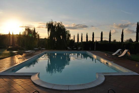 Ghiaccio Bosco: piscina
