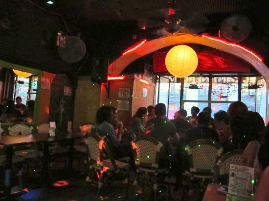 El Cantinero: Festive bar upstairs