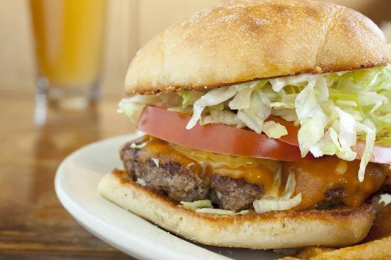 Screaming Yak: Cheeseburger
