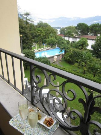 Remorino Hotel-Garni: View from room
