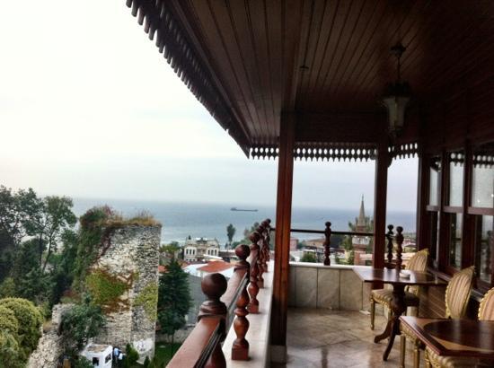 Valide Hotel: terrazza