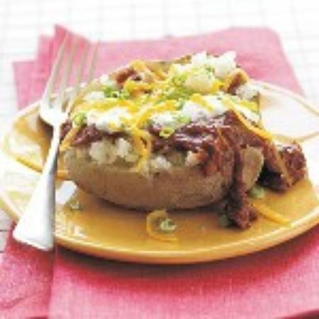 Hickory House BBQ: Try our Super Stuffed Baked Potato!