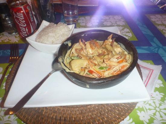 Restaurant Kanahau : Pollo al curry