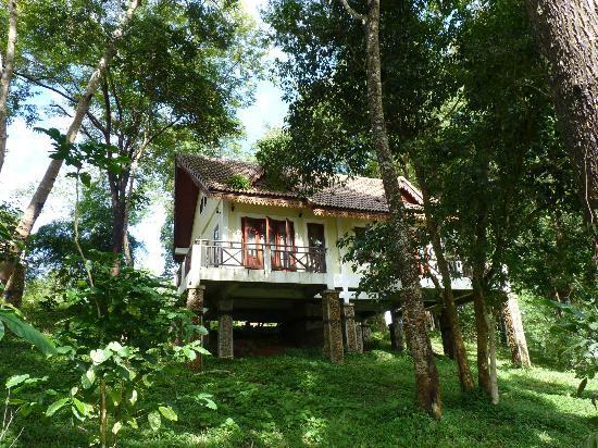Baan E-Tu Waterfall Resort : Petit chalet dans la foret