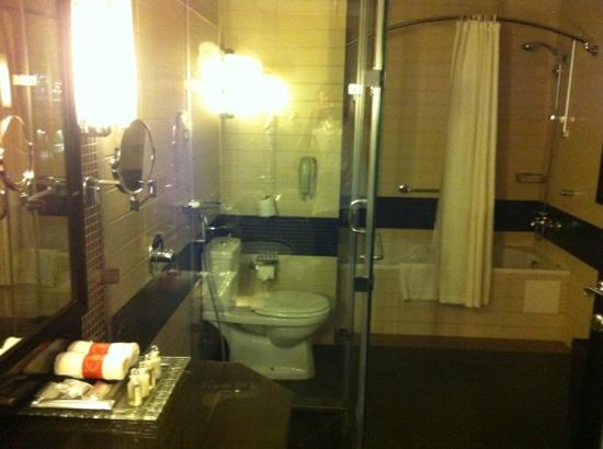 Crowne Plaza Al Khobar : bathroom