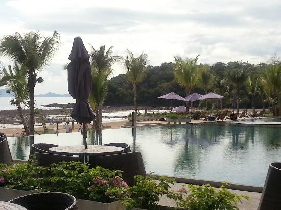 Beyond Resort Krabi: view from cafe