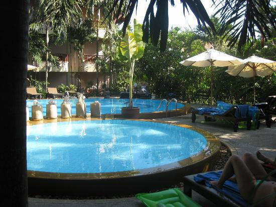 Aonang Princeville Resort: pool området på PrinceVille Resort