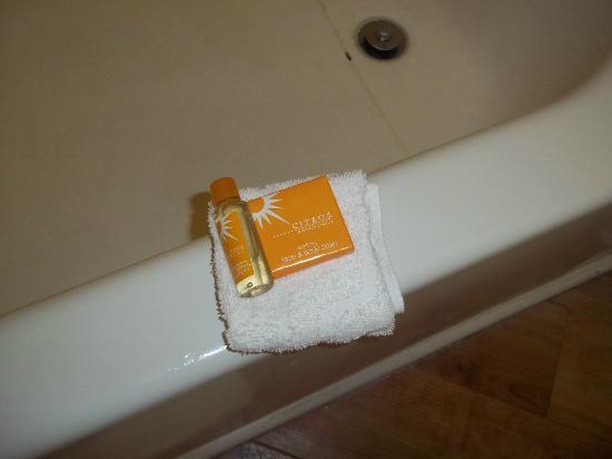 La Quinta Inn Baton Rouge University Area: Complimentary Toiletries