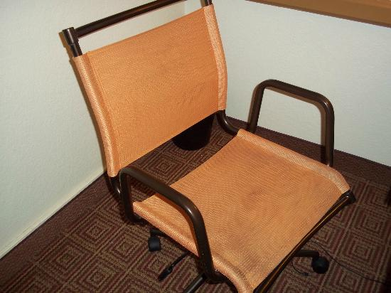 La Quinta Inn Baton Rouge University Area: Dirty chair