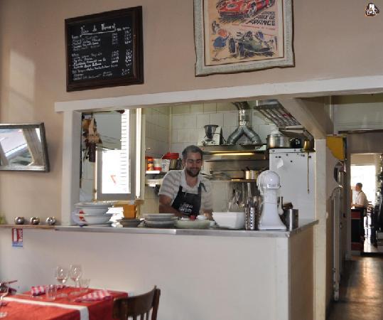 Le Bateau Ivre : La cuisine