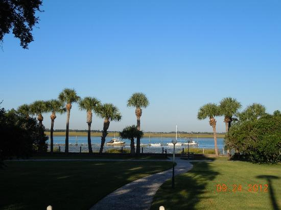 Jekyll Island Club Hotel: Intercoastal waterway